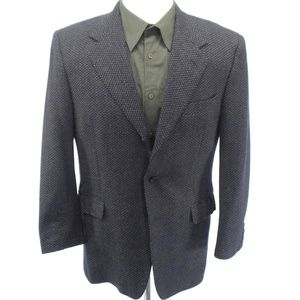 CANALI 40R 3 Button Sport Coat Made in Italy Wool